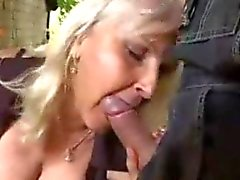 Young guy finds mature woman outdoor and fucks her hard and more…F70