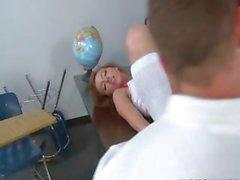 the teacher loves pleasing schoolgirls