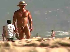 cute wht gay cpl pick-up big blk dude at nude beach