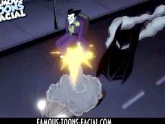 Superhero Porn Batman vs Harley Quinn
