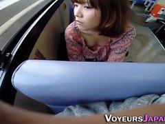 Asiatique, doigté, autobus