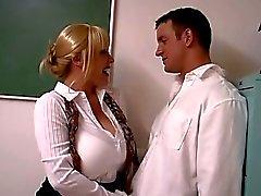 Horny Big Tits Teacher