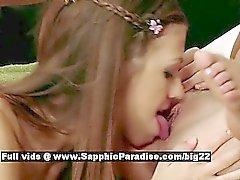 Anastasia ea di Rene e di Juliette LECCA di lesbo lasciva