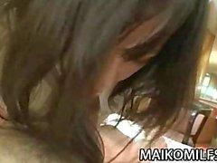 Da Makiko Nakane - Giapponese per madre diffondendo il suo gambe per un cazzo duro
