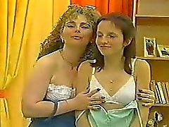 Duitse lesbiennes gebruiken dildo