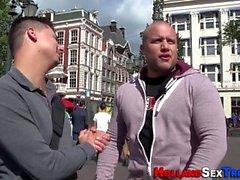 Real dutch skank fucked