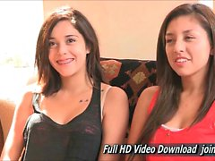 Sophie And Cortney Recently Turned 18 Adult With FTV