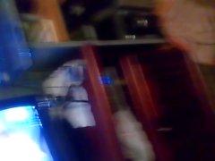 Un amigo se masturba mientras me cogen en skype
