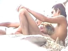 Sex On The Beach while the husband watches