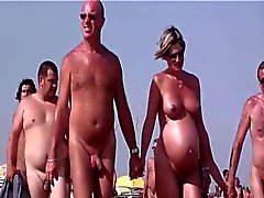 French nudist beach Cap d'Agde people walking nude 04