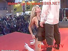 Girl on Public Stage 18