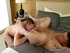 Gay clips van Ash en Nick neuken en zuigen part6