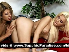 Anya and Dalia superb lesbos fingering and licking pussy and having lesbo sex