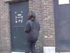 black girl have surprise gloryhole