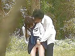 Teen School Girl ulkotarha Fuck