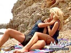 MMV FILMS Kelly Trump at the beach