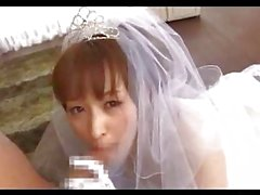 Bride Fingered Sucking Cock Fucked On The Floor In The Room