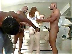 White Pregnant & 3 BBC