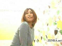 Ondertiteld Japanse vreemde wippen verleiding interview