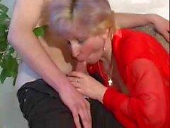 russian mature amazing blowjob