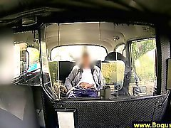 Real amateur babe finger fucked in cab