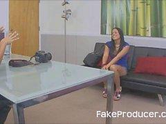 FakeProducer Casting Latina Hottie
