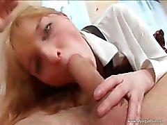 Dirty schoolgirl slut takes stiff rod part5