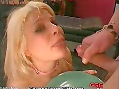 horny big boobs german girl segment 2