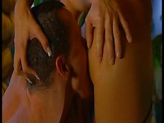 Blond sexy dans action anale chaud