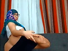 Güzel göğüsleri ve şişman eşek ile Teaser müslüman gal