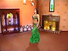 Alla Kushnir gives sexy Belly Dance Lessons