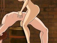 Hentai sex game Nami drunk is very slut (One Piece)
