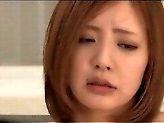 Di tentazione di redhead nipponico di prendere seni pieno verificare al documenti