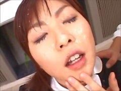 Japon Genç Hizmetçi Bukkake