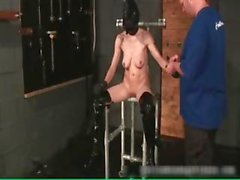 Kinky blonde babe feels aroused when she part2