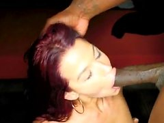 Hairy cowgirl reverse cowgirl with facial