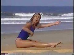 Denise Austin sexigt yoga
