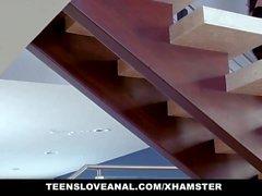 TeensLoveAnal - Shy Ebony Teen Fucks In Her Parents Bedroom