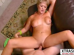 Busty Not Step Mom Tracy Licks Fucking Good Her Dad's Friend