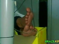 Candid Exposed Brazilian Feet Checked Out