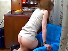 Mistress has ass and pussy licked