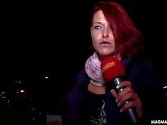 MAGMA FILM German Milf redhead casting for amateur