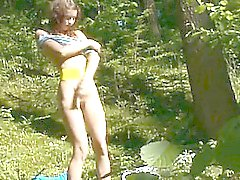 undress pussy in the forest