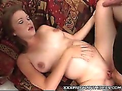 Pregnant Babe Threesome Banging