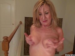 American moms in pantyhose part 12
