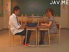 Teachers dick for a lusty schoolgirl