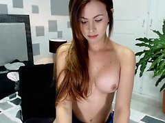Girl uses huge dildo to masturbate Must see on webcam chat x