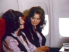 Air stewardess on layover