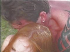 Redhead and Asian pleasing guy