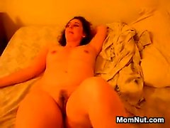 Ugly Mother Masturbates With Her Toy